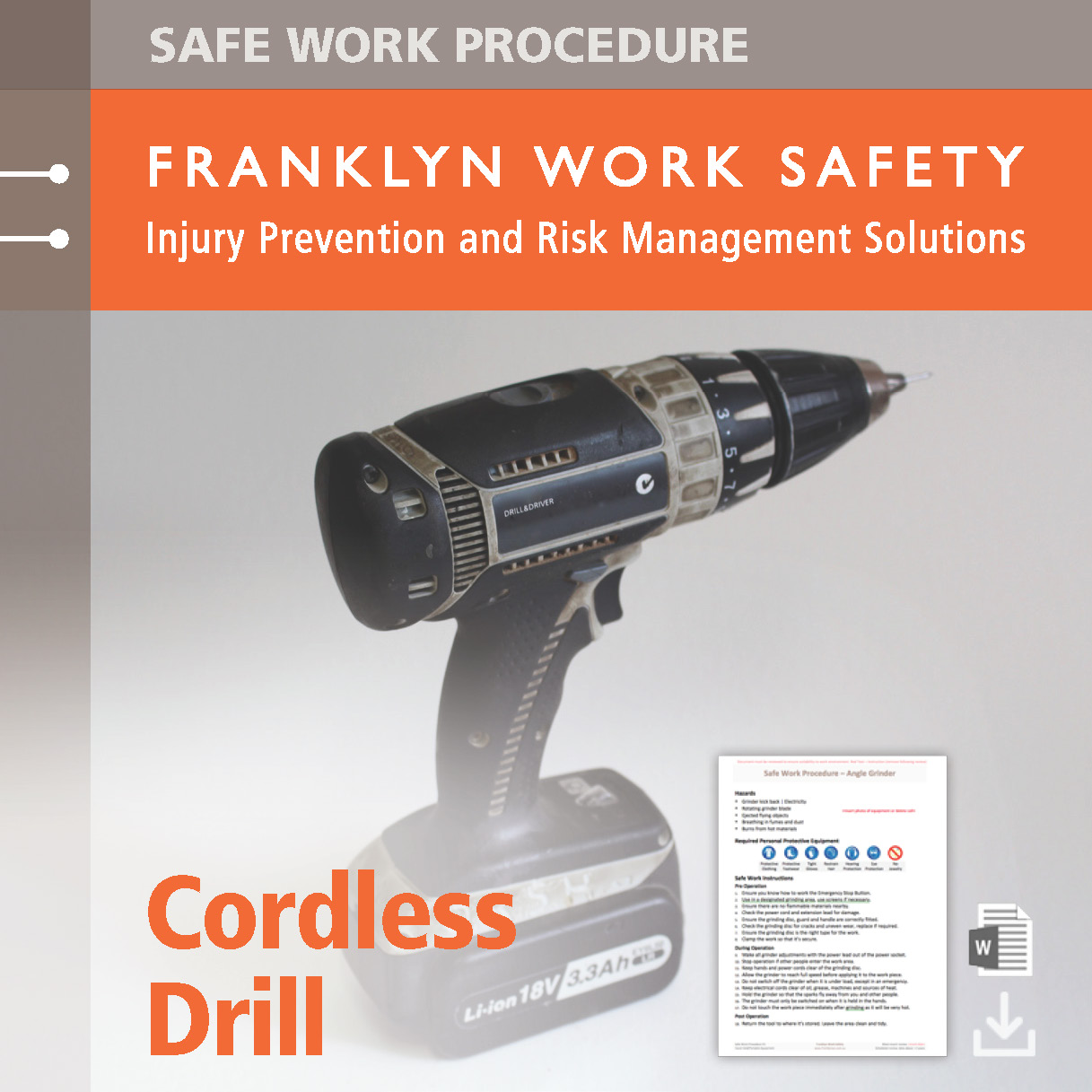 how to use a drill safely